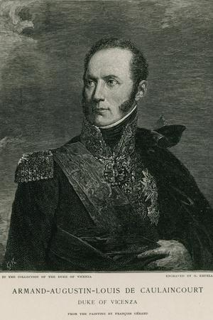 Armand-Augustin-Louis De Caulaincourt
