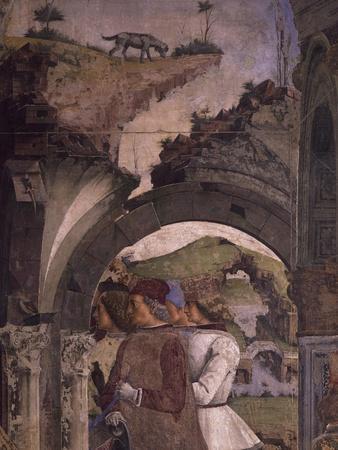 Borso D'Este Hunting Scene from Month of March, Circa 1470