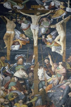 Crucifixion, Fresco