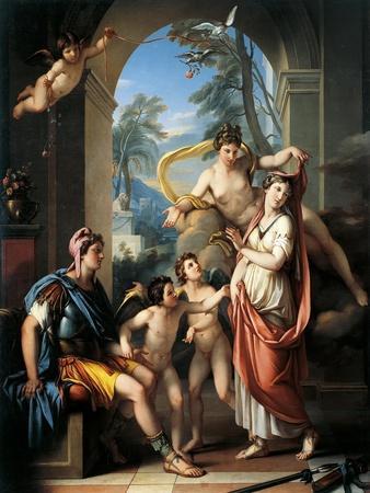 Venus Offering Helen to Paris