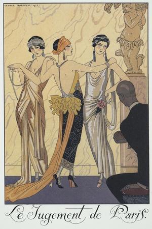 Falbalas Et Fanfreluches, Almanac for 1924,The Judgment of Paris