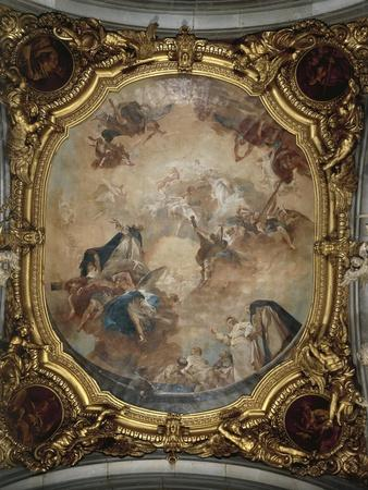 Glory of Saint Dominic, Chapel of San Domenico, 1727