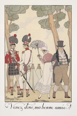Falbalas Et Fanfreluches, Almanac for 1923, Venez Donc, Ma Bonne Amie