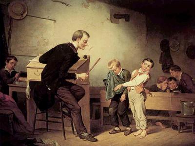 Pupils Being Punished, 1850