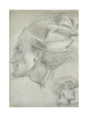 Study for 'Dante in Exile'