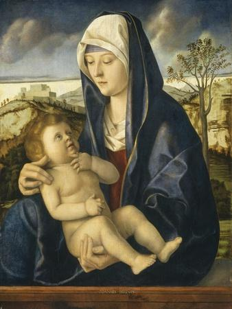 Madonna and Child in a Landscape, C.1490-1500