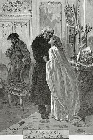 Le Dernier Gorge Du Chalice - Illustration from Les Misérables, 19th Century
