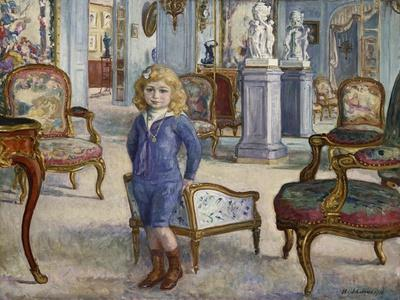 Paul De Camondo at the Hotel De Camondo, 1910