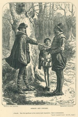 Illustration for Love's Labour's Lost