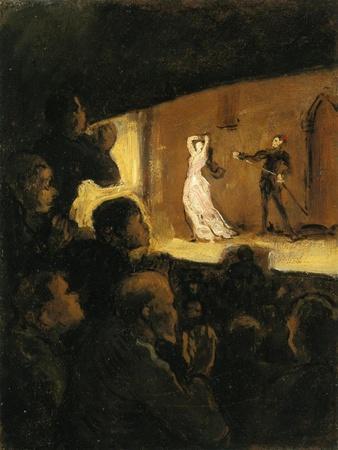 In the Theatre, 1860-64