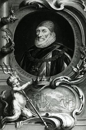 Portrait of Charles Howard