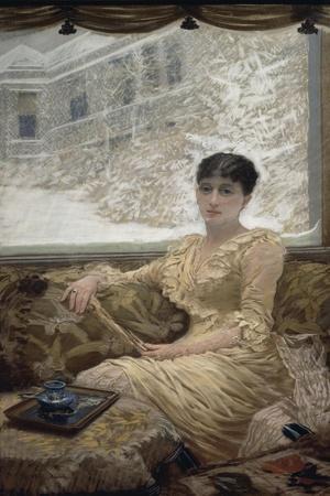 Portrait of Mrs. De Nittis, 1882