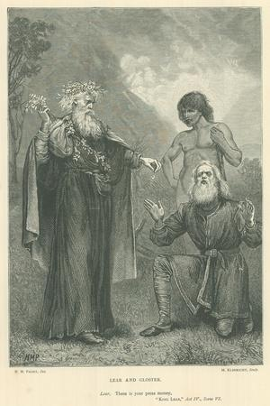 Illustration for King Lear