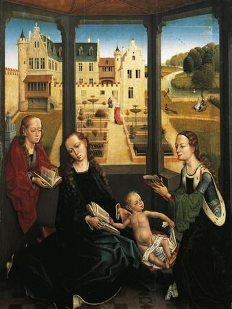 Madonna and Child in a Garden, 1494, Capilla Real, Granada, Spain