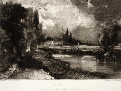 A Mill, from Various Subjects of Landscape Characteristic of English Scenery