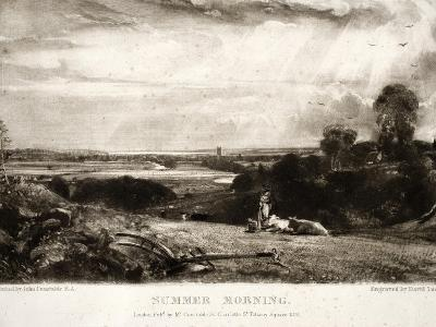 Summer Morning, from Various Subjects of Landscape Characteristic of English Scenery