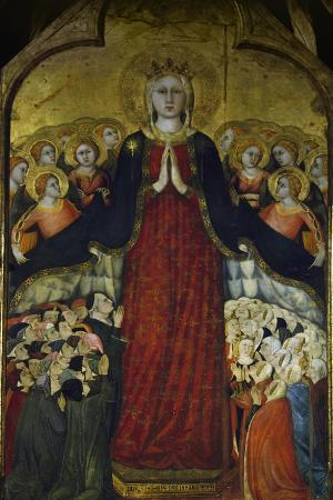 Madonna of Recommended, Ca 1320