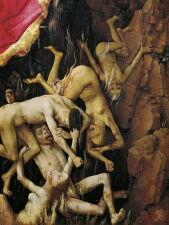 Damned, Detail from Last Judgment Altarpiece, 1446-1452