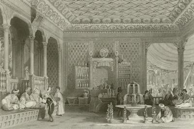 Interior of a Turkish Caffinet
