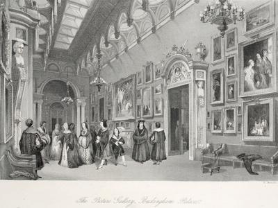 The Picture Gallery at Buckingham Palace