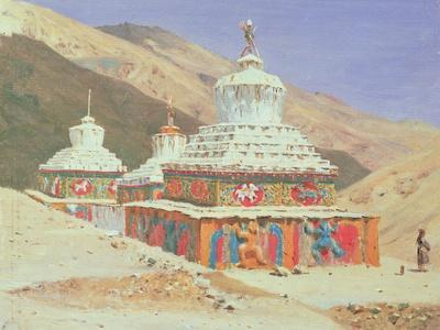 The Death Memorial in Ladakh, 1875
