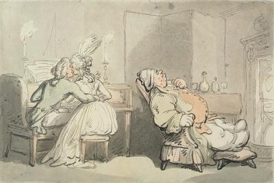 The Music Master, from 'Scenes at Bath'