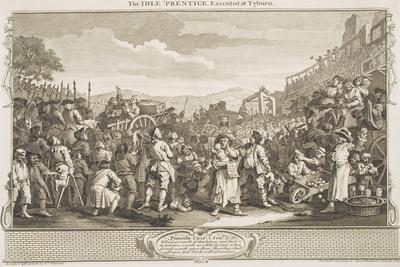 "The Idle 'Prentice Executed at Tyburn, from the Series ""Industry and Idleness"", October 1747"