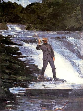 An Angler, 1874