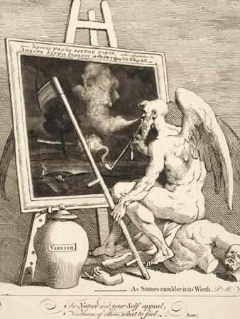 Time Smoking a Picture, March 1761