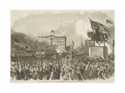 The Great Meeting in Union Square