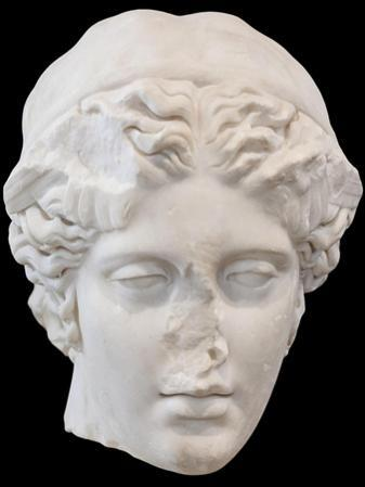 Portrait of Hypnos, God of Sleep, Second Century Ad, National Museum of Rome