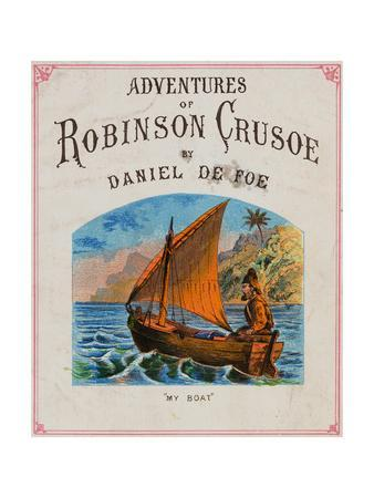 Cover for Adventures of Robinson Crusoe