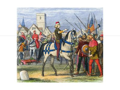 Richard II Taking Command of Rebels