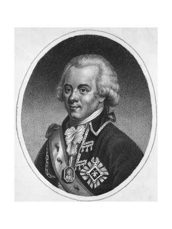 Portrait Engraving of Paul I, Emperor of Russia