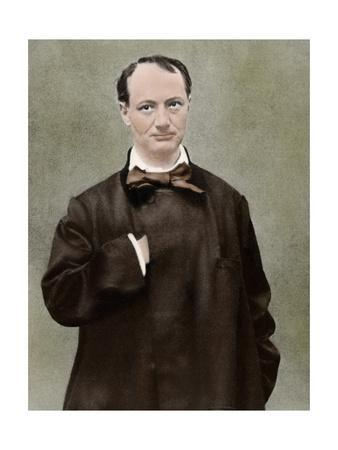 Charles Pierre Baudelaire (1821-1867). French Poet.
