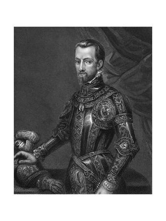 Philip Ii the King of Spain