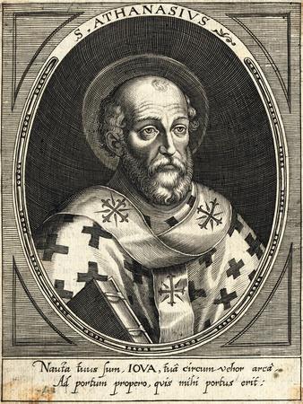 St. Athanasius, the Bishop of Alexandria