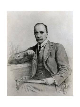 Portrait of Brilliant Physician and Medical Educator William Osler