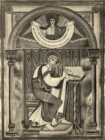 Matthew Writing the Gospel