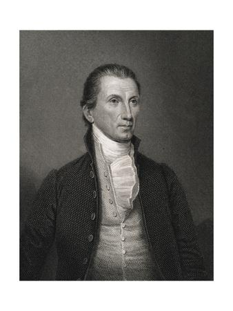 Portrait of James Monroe by Asher Brown Durand after John Vanderlyn