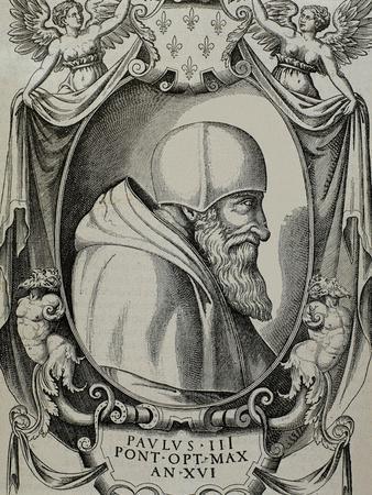 Paul III (1468-1549). Born Alessandro Farnese.