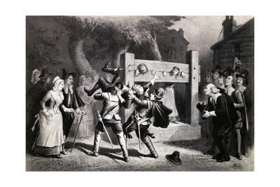 Illustration of Witch Hunt