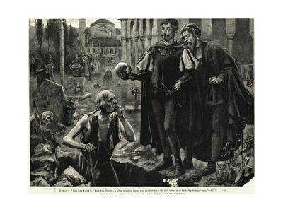 Hamlet and Horatio in the Graveyard