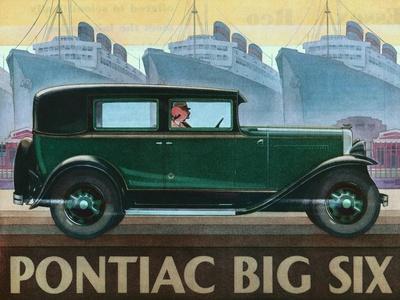 Pontiac Big Six Advertisement