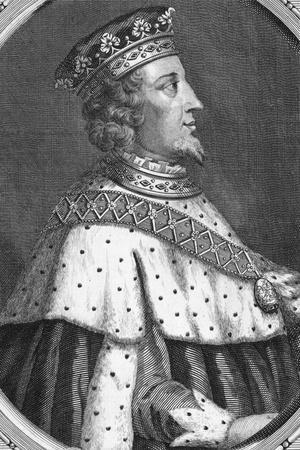 Profile Drawing of King Richard II