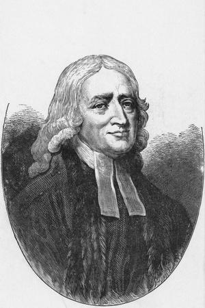 Engraving of John Wesley