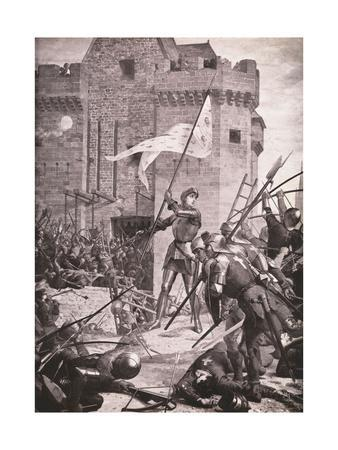 Joan of Arc during Siege