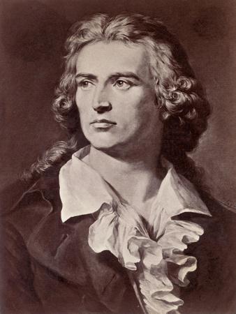Illustration of Friedrich Schiller