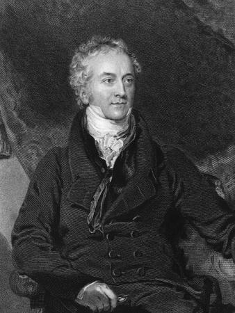Engraving of Thomas Young