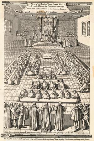Elizabethan Parliament Session